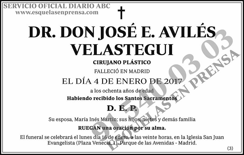 José E. Avilés Velastegui